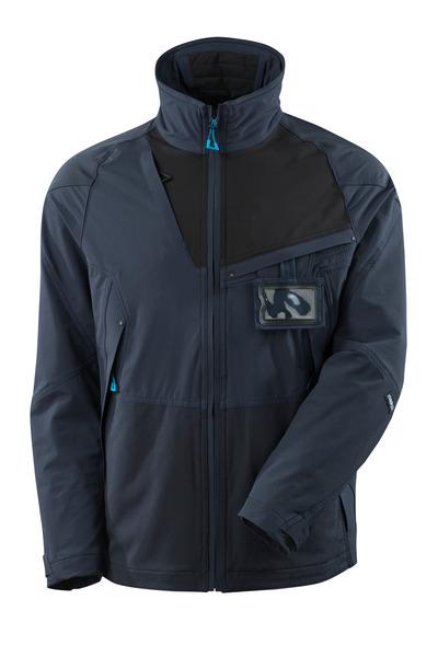 MASCOT® ADVANCED - donkermarine/zwart - Jack, 4 way stretch, lichtgewicht
