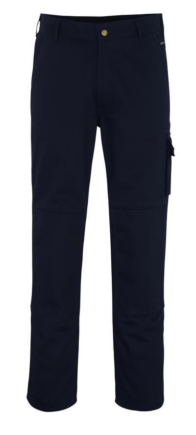 MASCOT® Albany - marine - Werkbroek met kniezakken, hoge slijtvastheid