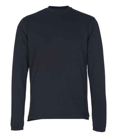 MASCOT® Albi - donkermarine - T-shirt, met lange mouwen, moderne pasvorm