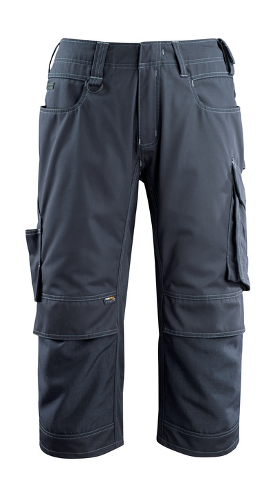 MASCOT® Altona - donkermarine - Driekwart werkbroek met CORDURA®-kniezakken, lichtgewicht