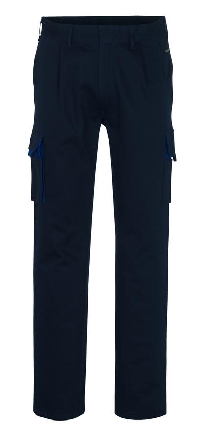 MASCOT® Barretos - marine/korenblauw* - Servicebroek