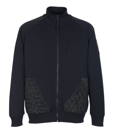 MASCOT® Belfort - donkermarine* - Sweatshirt met ritssluiting