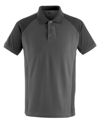 MASCOT® Bottrop - donkerantraciet/zwart - Poloshirt, moderne pasvorm