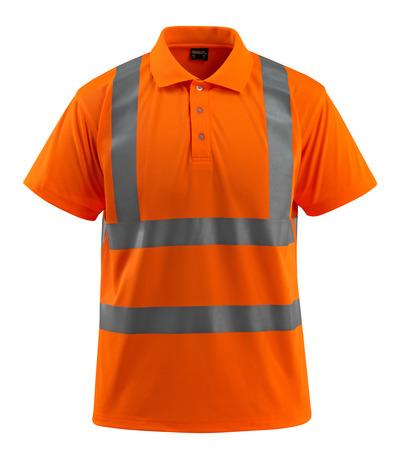 MASCOT® Bowen - hi-vis oranje - Poloshirt, ruime pasvorm, klasse 2