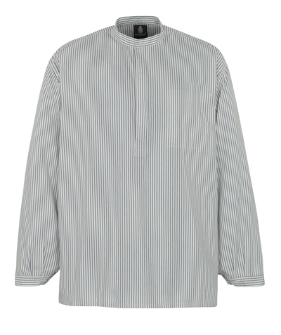 MASCOT® Buffalo - wit/marine - Metselaarshemd