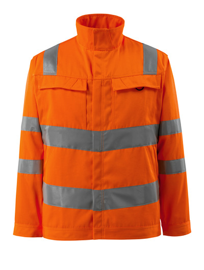 MASCOT® Bunbury - hi-vis oranje - Jack, hoge slijtvastheid, effen, klasse 3