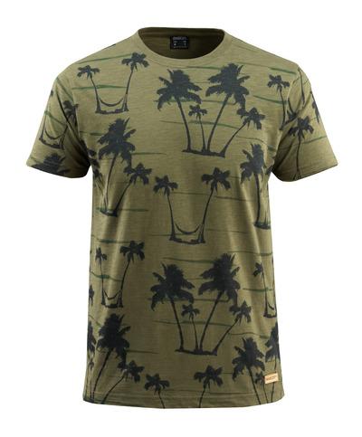 MASCOT® Bushwick - mosgroen* - T-shirt