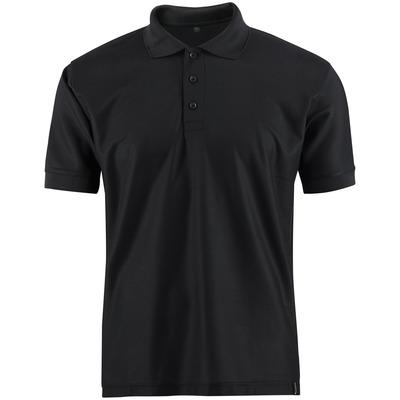 MASCOT® CROSSOVER - zwart - Poloshirt, vochtregulerend CoolDry, moderne pasvorm