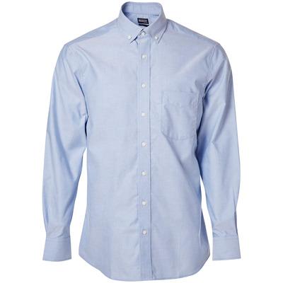MASCOT® CROSSOVER - lichtblauw - Overhemd, oxford, ruime pasvorm