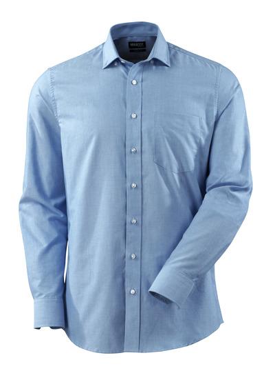 MASCOT® CROSSOVER - lichtblauw - Overhemd, oxford, moderne pasvorm