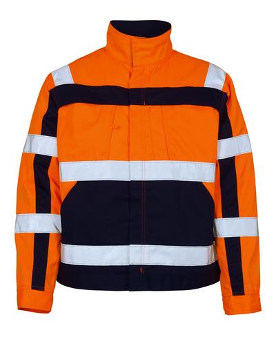 MASCOT® Cameta - hi-vis oranje/marine - Jack, hoge slijtvastheid, klasse 2