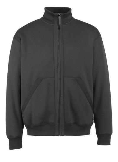 MASCOT® Cannes - zwart* - Sweatshirt met ritssluiting