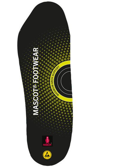 MASCOT® FOOTWEAR - zwart - Inlegzolen met schokabsorbering, maximale ondersteuning van de voetboog