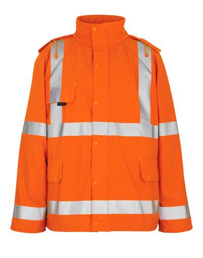 MASCOT® Feldbach - hi-vis oranje - Regenjas, wind- en waterdicht, klasse 3