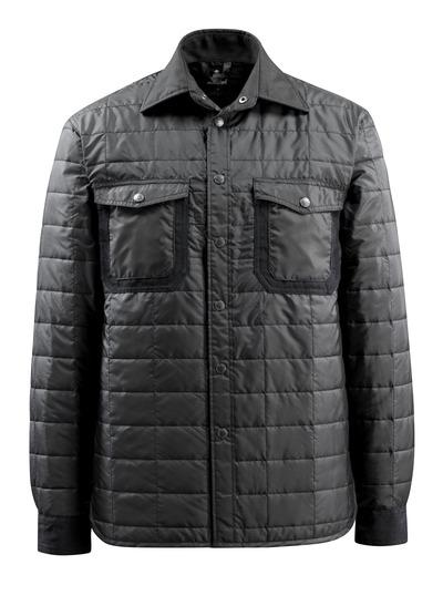 MASCOT® Fraga - zwart - Thermo overhemd