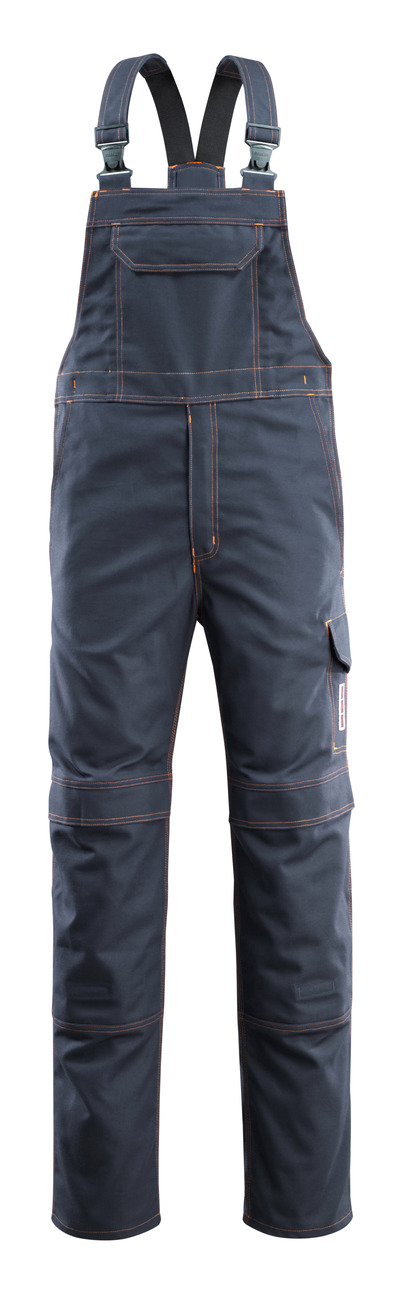 MASCOT® Freibourg - donkermarine - Amerikaanse overall met kniezakken, meervoudige bescherming