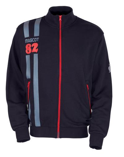 MASCOT® Fundao - donkermarine* - Sweatshirt met ritssluiting