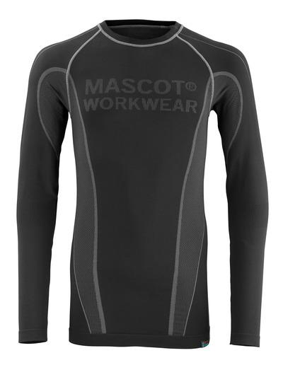 MASCOT® Hamar - zwart - Functioneel hemd, vochtregulerend, isolerend