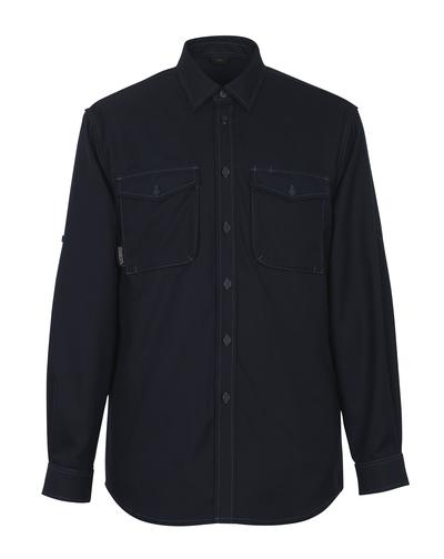 MASCOT® Hampton - donkermarine - Overhemd
