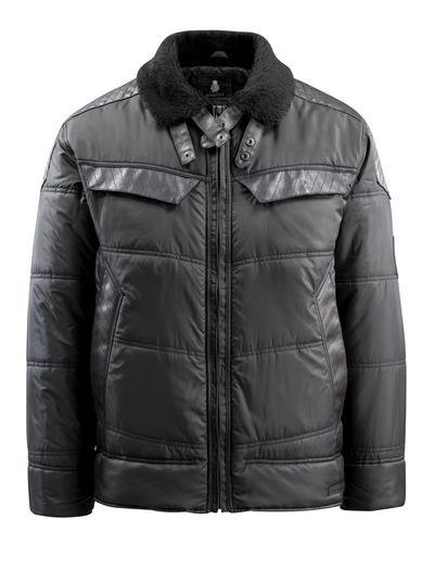 MASCOT® Haro - zwart - Winterjack, gewatteerd