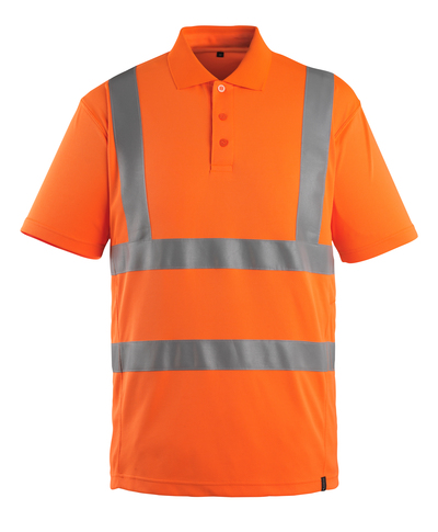 MASCOT® Itabuna - hi-vis oranje - Poloshirt, moderne pasvorm, klasse 2