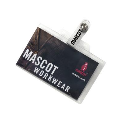 MASCOT® Kananga - transparante - Pashouder van sterke kunststof
