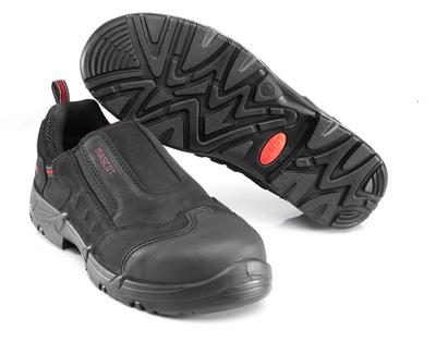 MASCOT® Katesh - zwart/rood* - Veiligheidsschoenen S1P met elastieksluiting