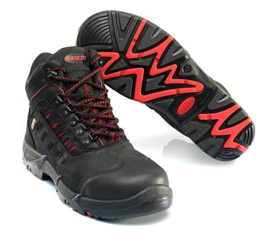 MASCOT® Kenya - zwart/rood - Veiligheidslaarzen S3 met veters