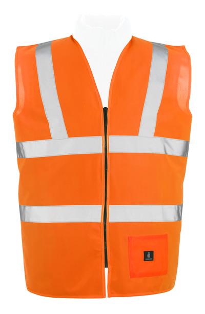 MASCOT® Lakewood - hi-vis oranje* - Veiligheidshesje met rits, klasse 2