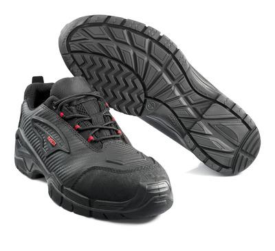 MASCOT® Langley - zwart/rood* - Veiligheidsschoen, laag