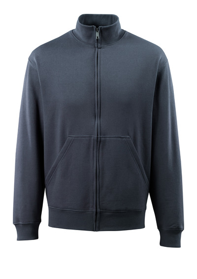 MASCOT® Lavit - donkermarine - Sweatshirt met rits, moderne pasvorm