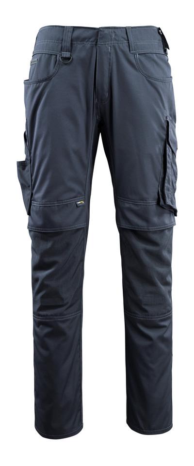 MASCOT® Lemberg - donkermarine - Broek met CORDURA®-kniezakken, extra lichtgewicht