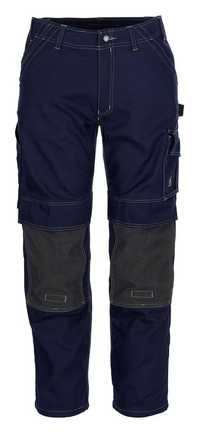 MASCOT® Lerida - marine - Werkbroek met Kevlar®-kniezakken, hoge slijtvastheid