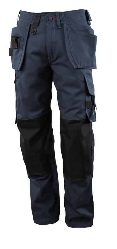 MASCOT® Lindos - donkermarine - Werkbroek met CORDURA®-kniezakken en spijkerzakken, lichtgewicht
