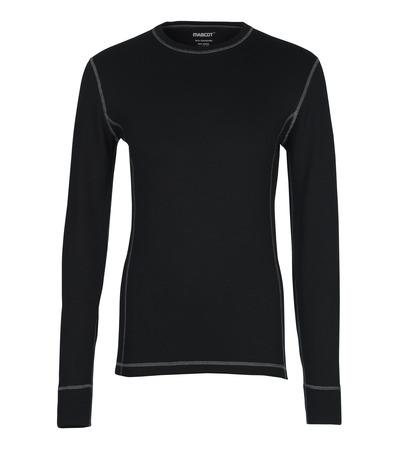 MASCOT® Logrono - zwart - Functioneel hemd, vochtregulerend, isolerend