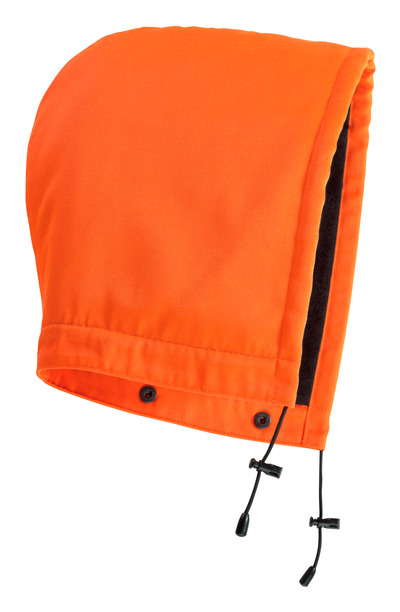 MASCOT® MacAllen - hi-vis oranje - Capuchon met drukknopen