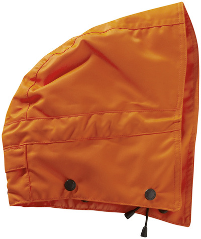 MASCOT® MacCall - hi-vis oranje - Capuchon met drukknopen