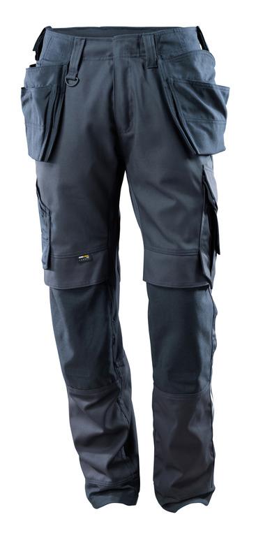 MASCOT® Madrid - donkermarine - Werkbroek met CORDURA®-knie- en spijkerzakken, stretch-panelen, hoge slijtvastheid