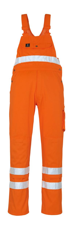 MASCOT® Maine - hi-vis oranje* - Amerikaanse overall met kniezakken