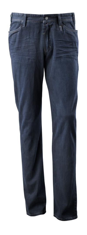 MASCOT® Manhattan - gewassen donkerblauw denim¹) - Jeans