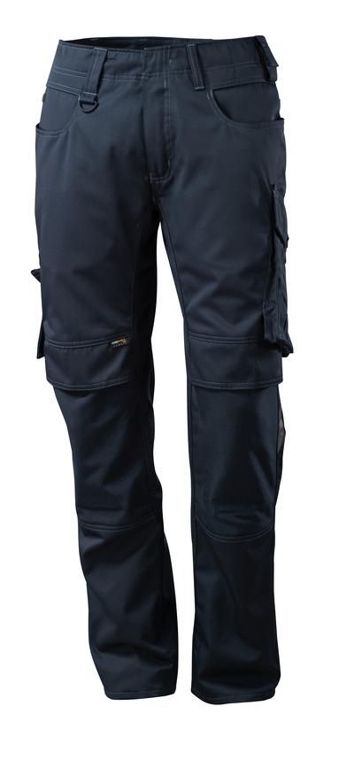 MASCOT® Mannheim - donkermarine - Broek met CORDURA®-kniezakken, lichtgewicht