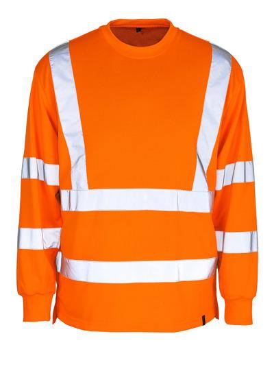 MASCOT® Melita - hi-vis oranje - Sweatshirt, ruime pasvorm, klasse 3