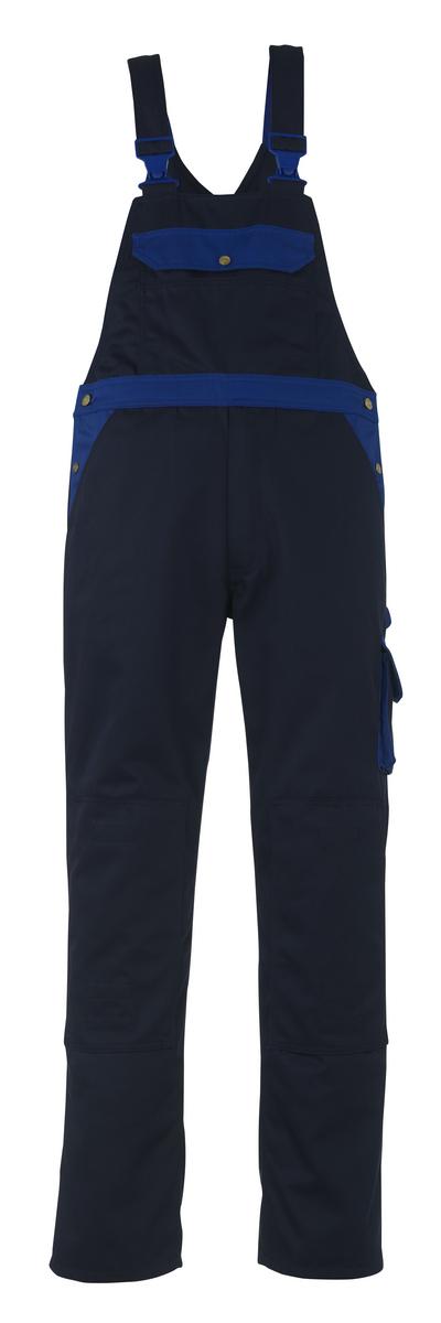 MASCOT® Milano - marine/korenblauw - Amerikaanse overall met kniezakken, hoge slijtvastheid