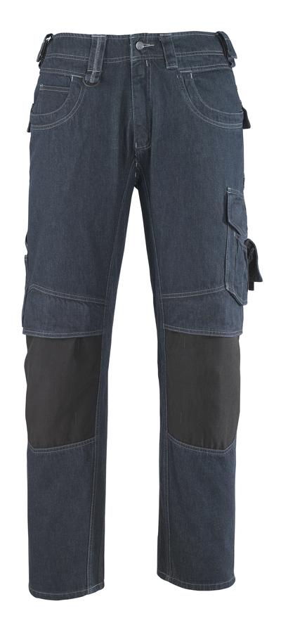 MASCOT® Milton - denimblauw* - Jeans met kniezakken