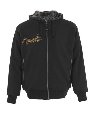 MASCOT® Monforte - zwart* - Hooded sweatshirt