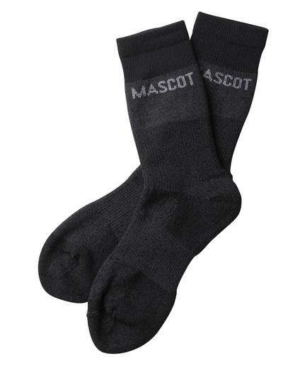 MASCOT® Moshi - donkergrijs-melêe - Sokken