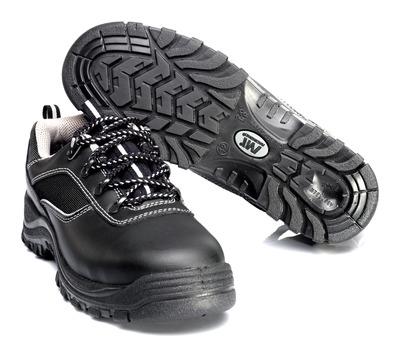 MACMICHAEL® Nesthorn - zwart - Veiligheidsschoenen S3 met veters