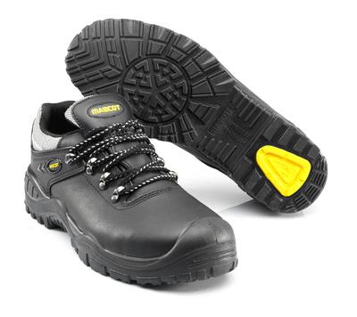 MASCOT® Oro - zwart/geel - Veiligheidsschoenen S3 met veters