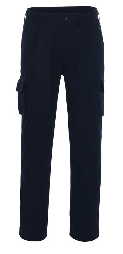 MASCOT® Pasadena - marine - Werkbroek met kniezakken, lichtgewicht