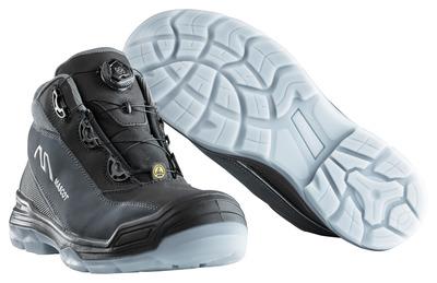 MASCOT® Petros - zwart/antraciet - Veiligheidslaarzen S3 met Boa®-sluiting